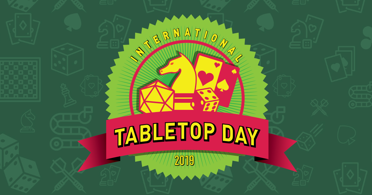 International Tabletop Day gaming event!