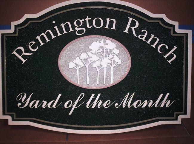 KA20905 - Remington Ranch HOA Yard-of-Month Sign