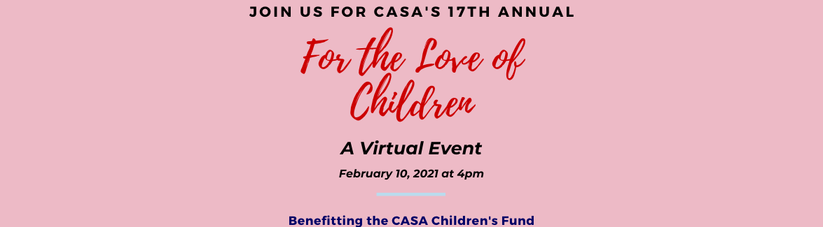 For the Love of Children Virtual Event