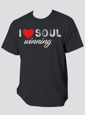 I ♥ Soul Winning T-Shirt - Black