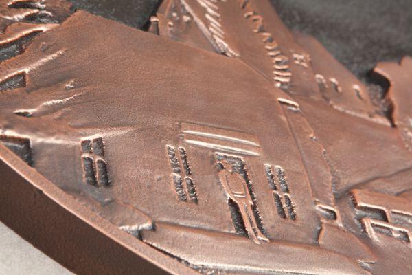 M7205 - Copper Wall Plaque