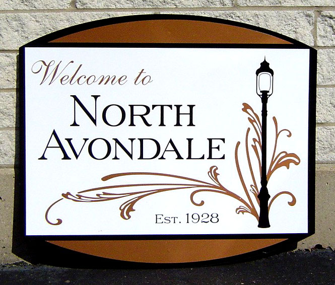 North Avondale Sign