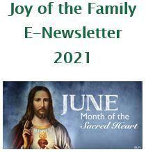 Joy of the Family e-Newsletter - June