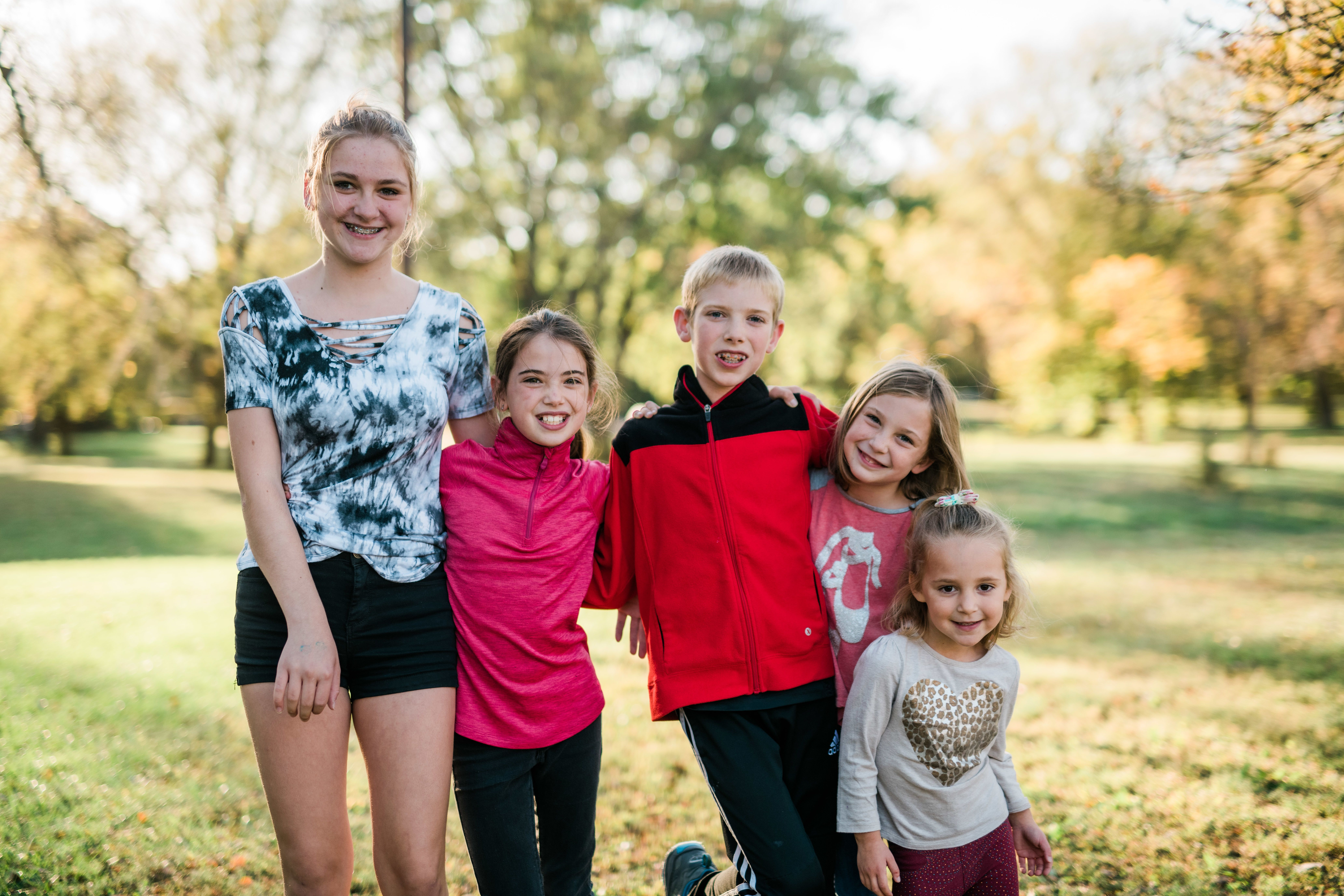 Five Siblings Find Family