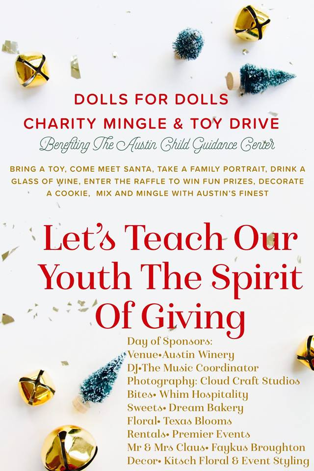 Dolls for Dolls Charity Mingle & Toy Drive
