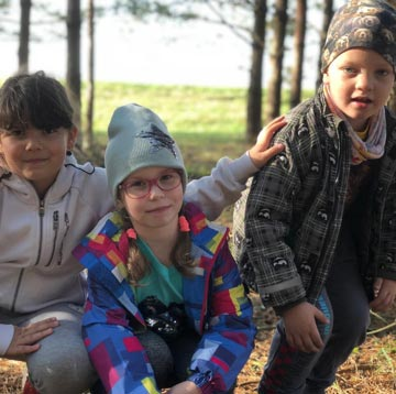 October 2018 - School kids in Estonia