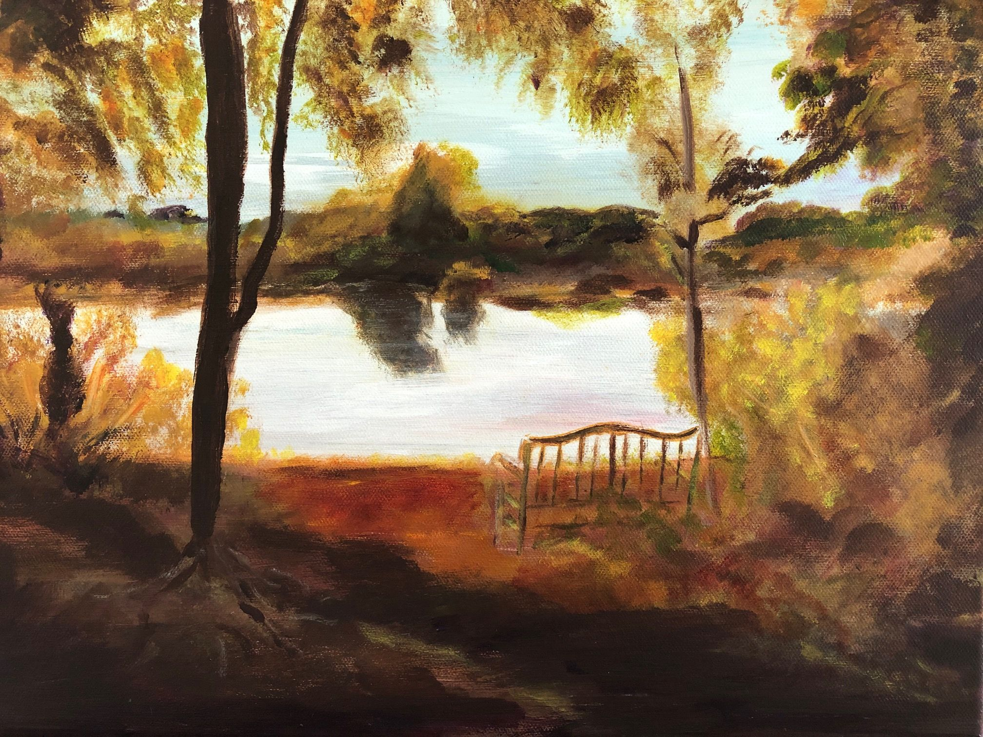 Artist: Ginny Blank, Oil on Canvas