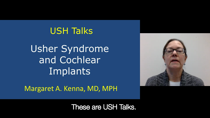 Usher Syndrome and Cochlear Implants