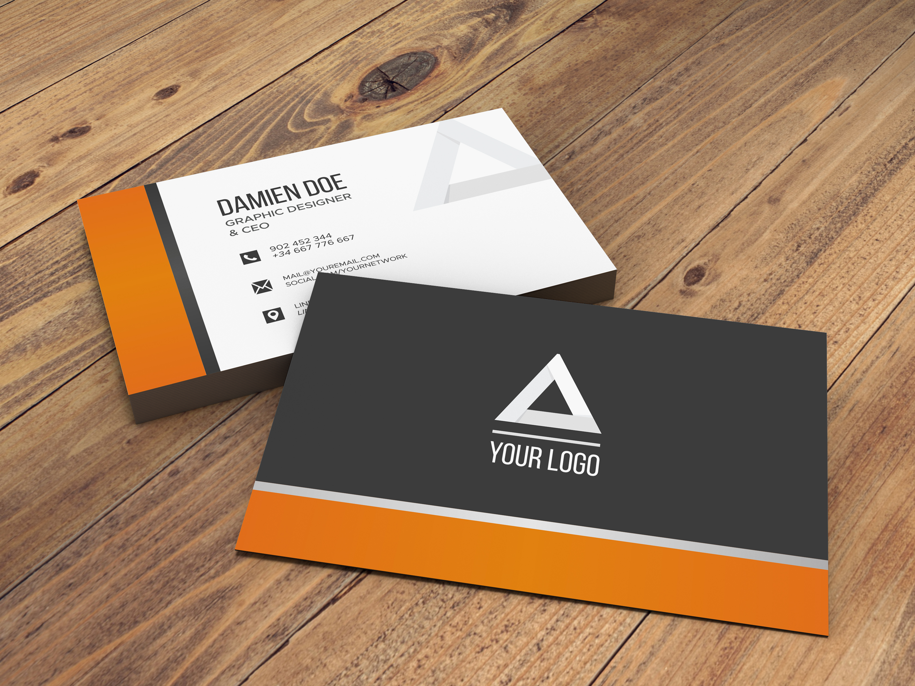 3.5 x 2 16pt Matte Business Card
