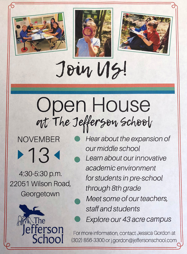 Open House at The Jefferson School