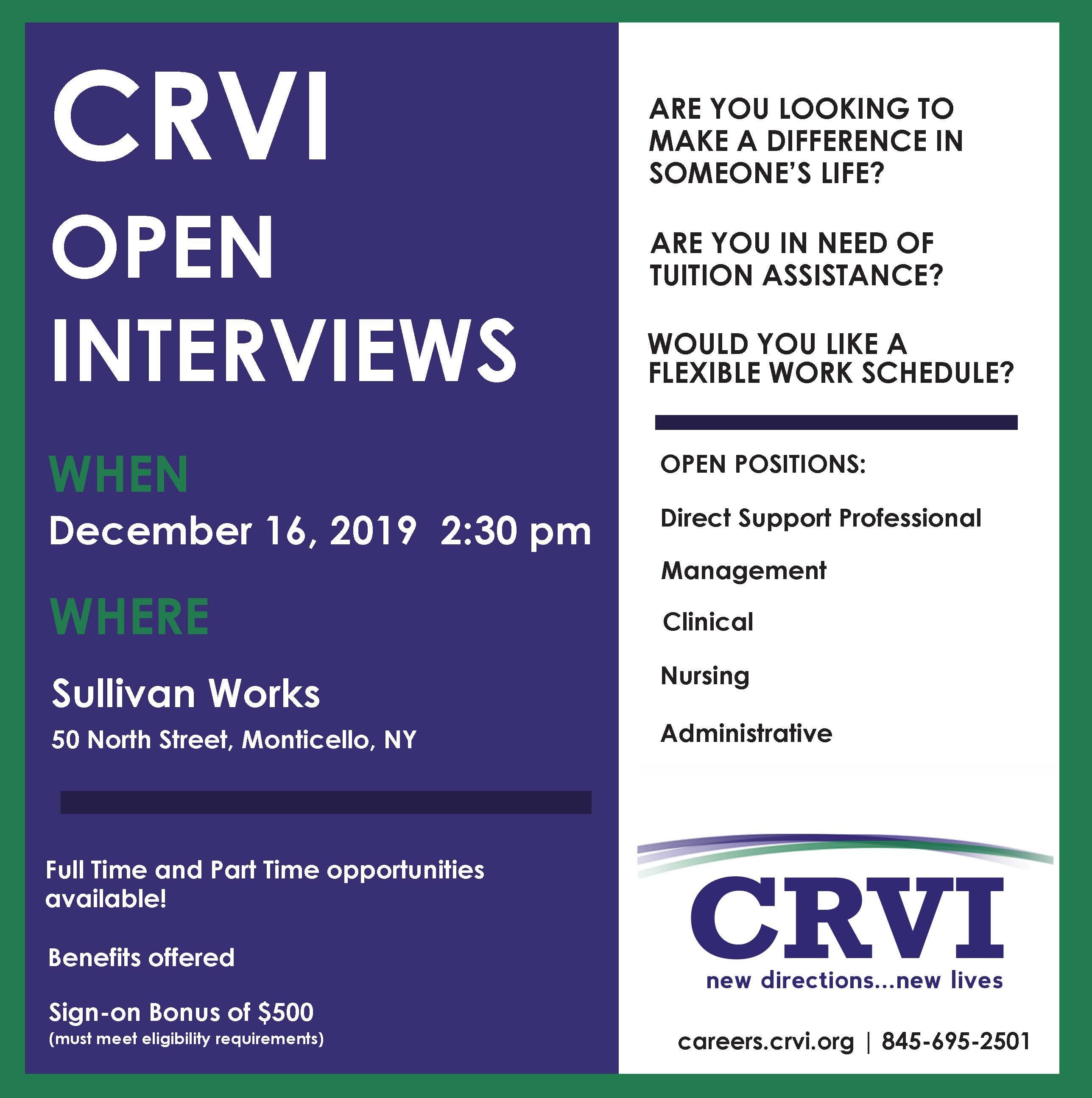 Sullivan Works 12.16.19