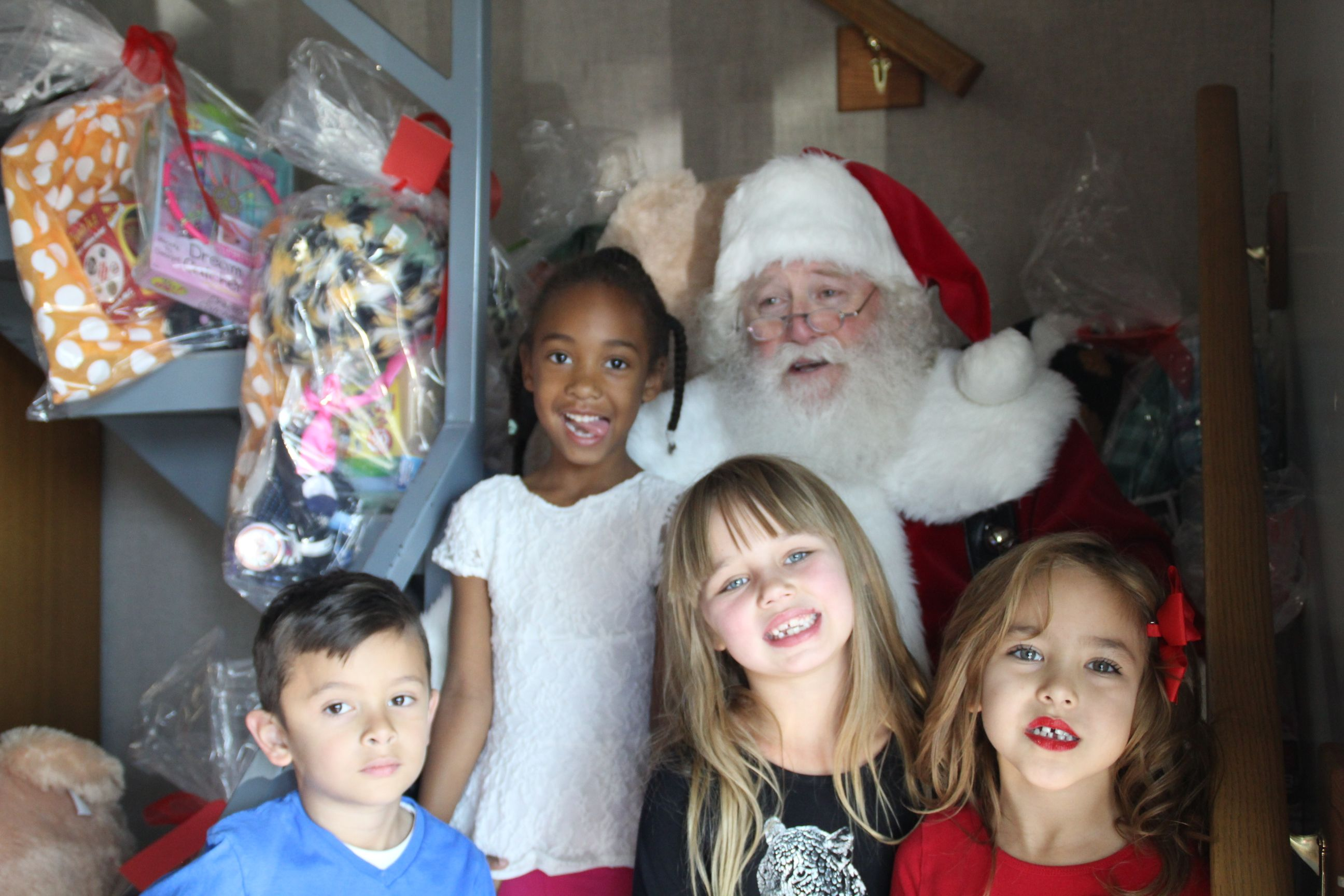 Deseret News: Santa's Elves Make Christmas Merry for Students