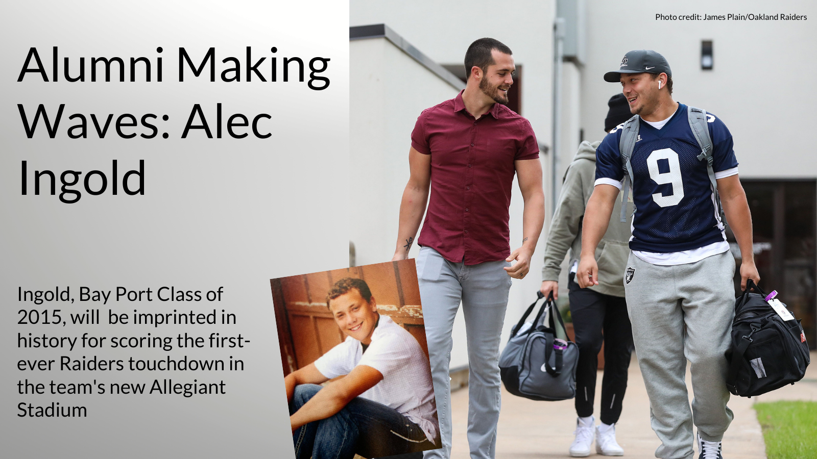 Alumni Making Waves: Alec Ingold