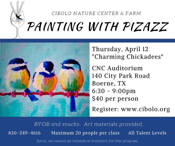 """CNC:  Painting with Pizazz """"Charming Chickadees"""""""