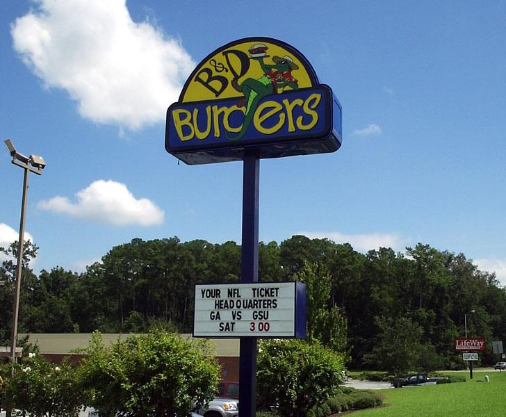 B& D Burgers Main