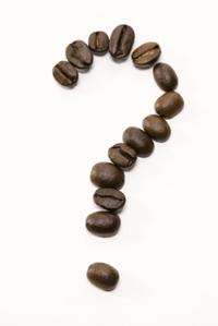 Coffee Bean Question Mark