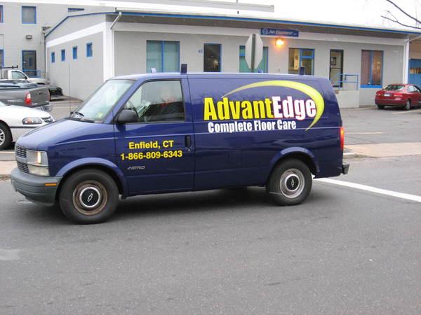 Chevrolet Astro Van, Lettering & Graphics