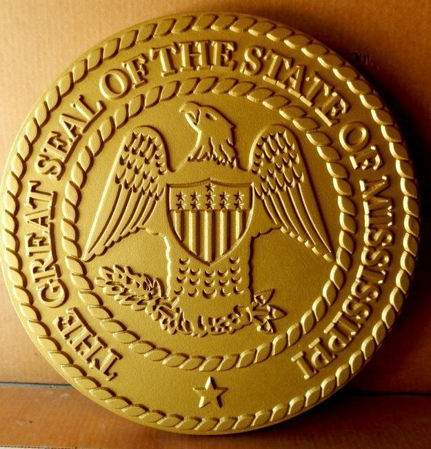 CD9055 - Seal of the State ofMississippi