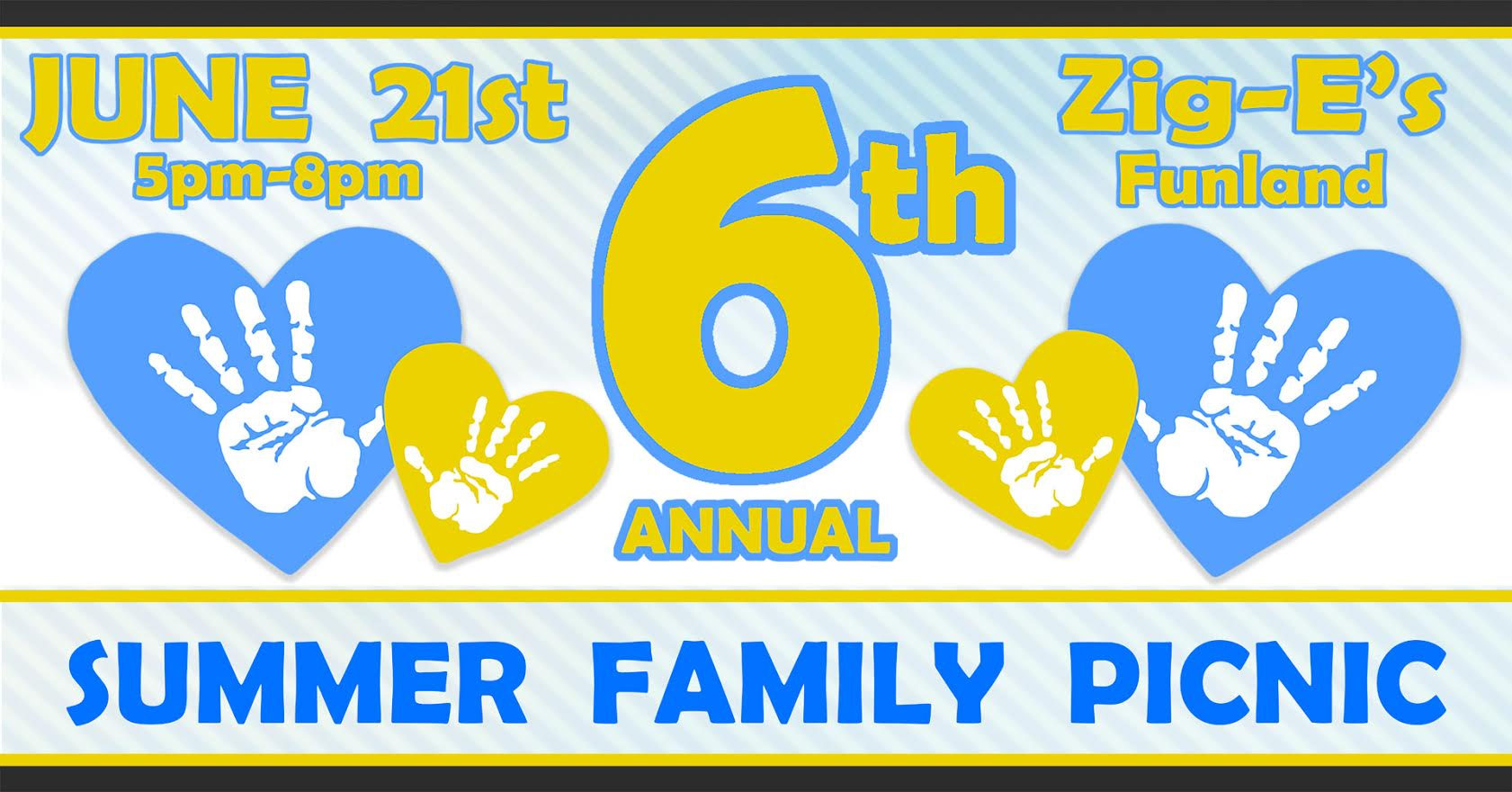 RAIN DATE ONLY: DSA 6th Annual Summer Family Picnic @ Zig-E's Funland