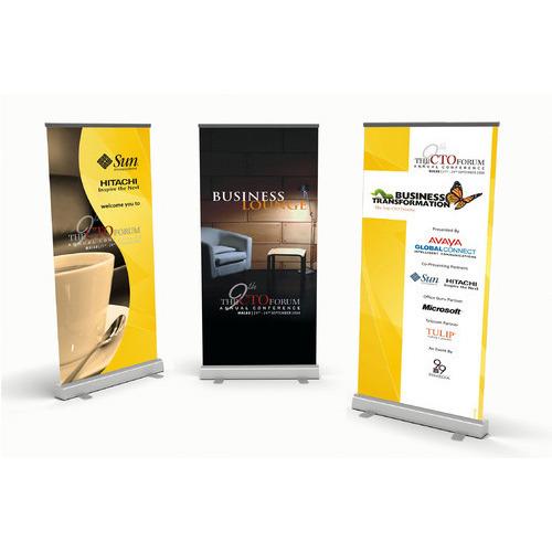Marketing Signage - 33 x 85 Pop Up Banner