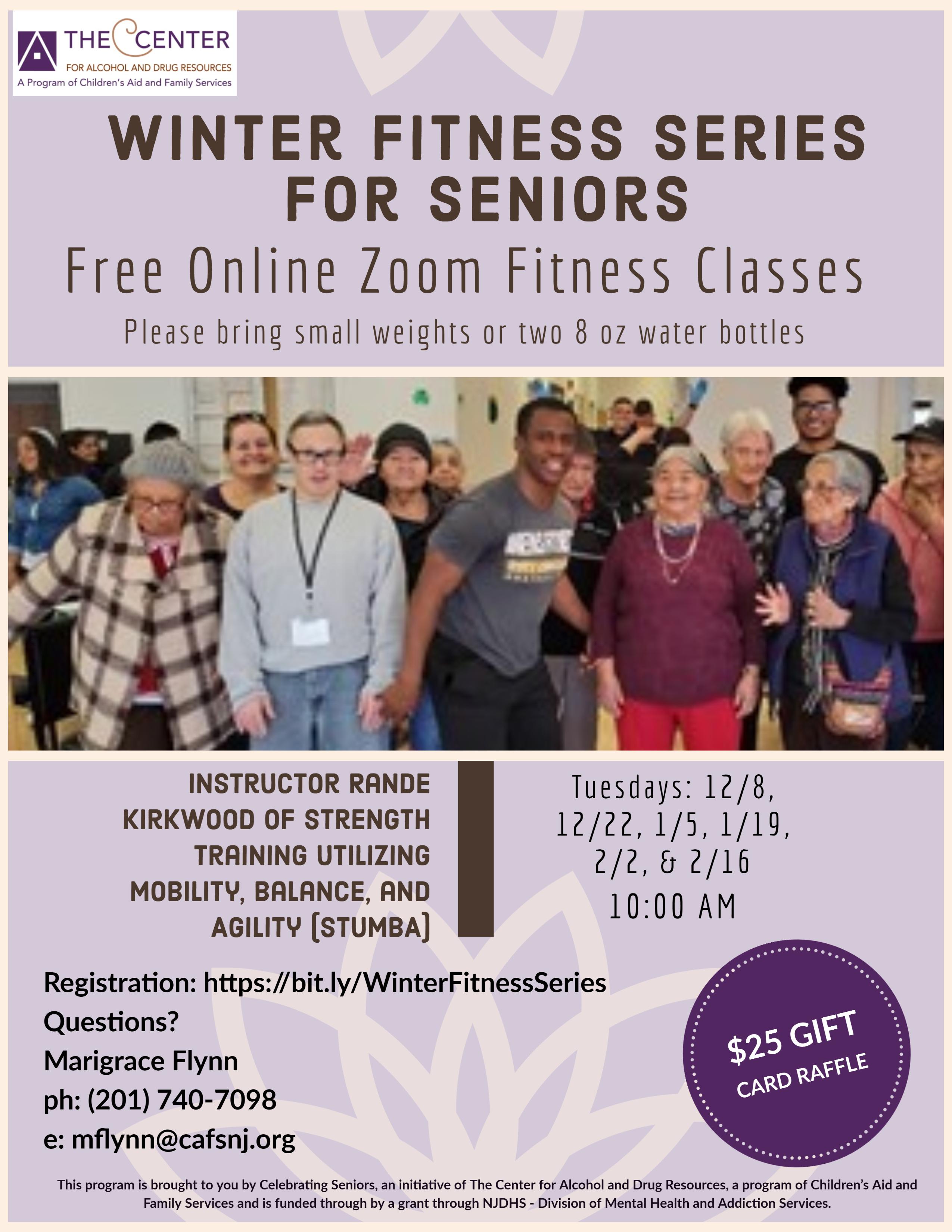 Winter Fitness Series for Seniors