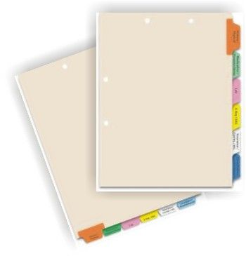 custom chart dividers