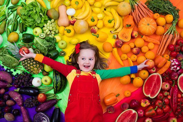 Kids LOVE to eat the Rainbow!