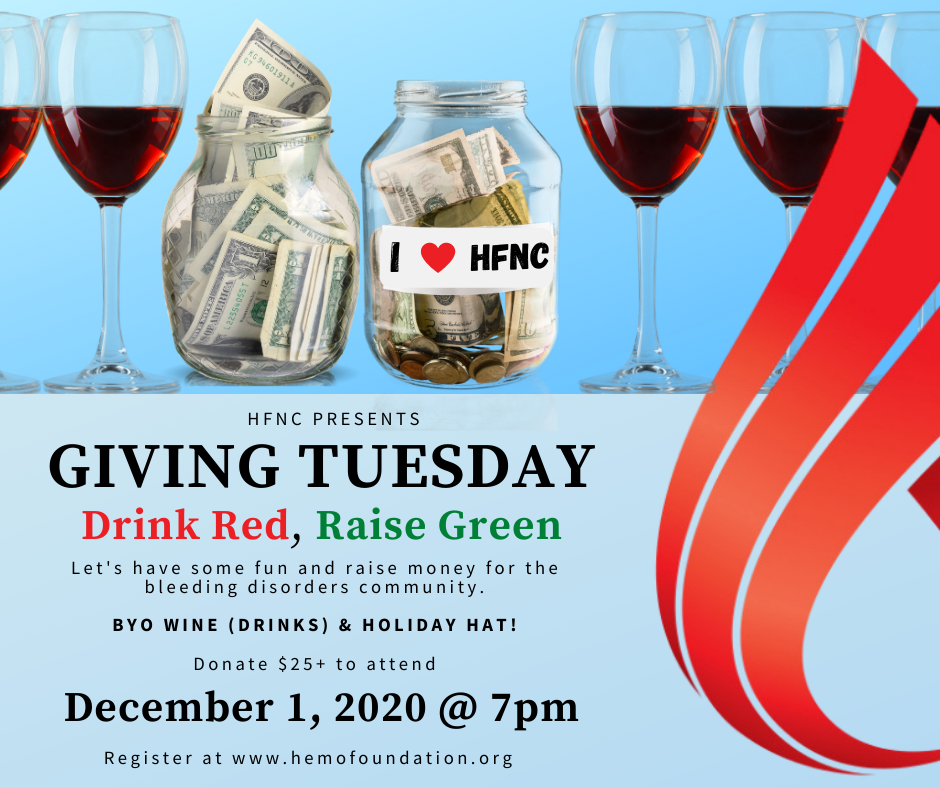 Giving Tuesday: Drink Red, Raise Green