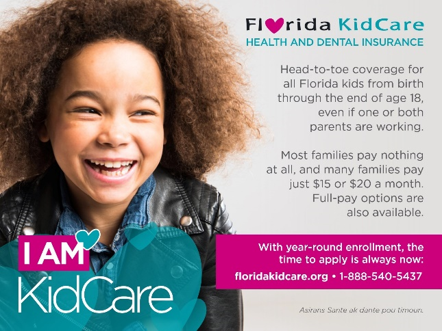 Florida Kid Care Application Assistance