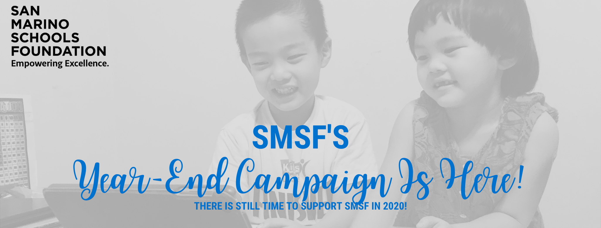 Our Year-End Campaign Is Here!