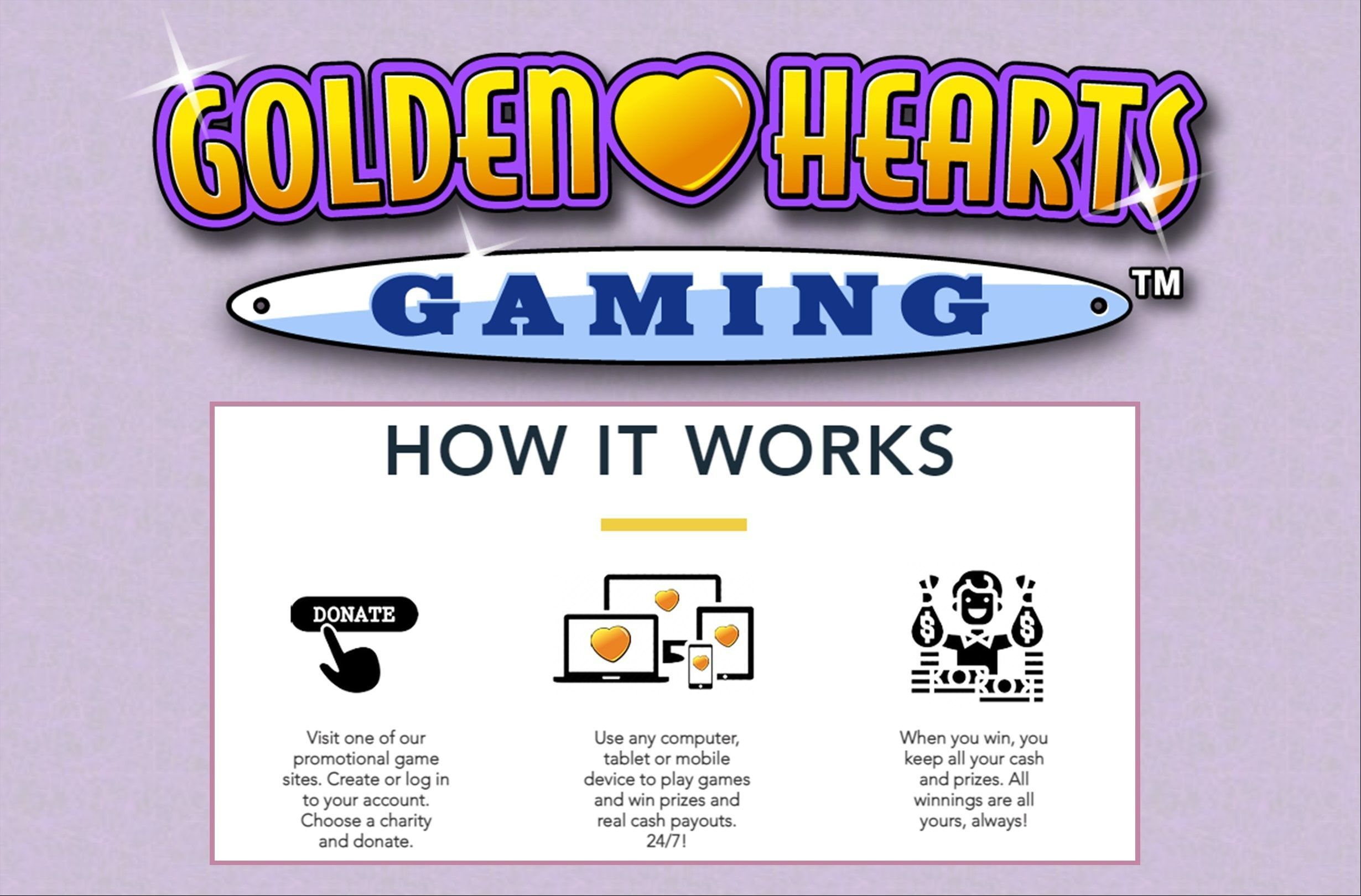 Play Games. Win Prizes. Do Good!