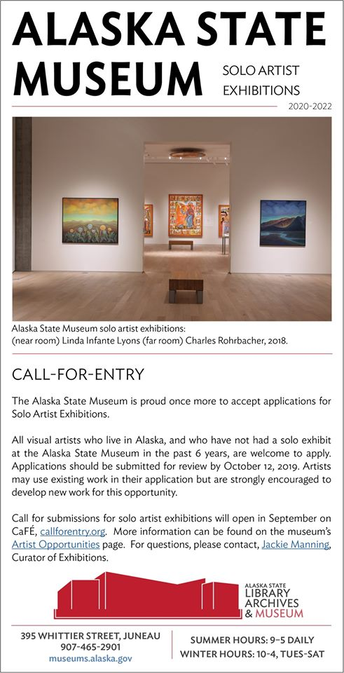 Alaska State Museum Call-for-Entry