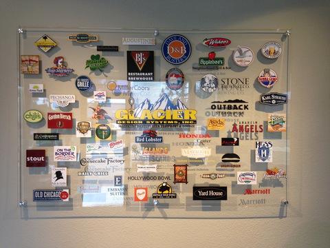 Custom lobby signs Orange County