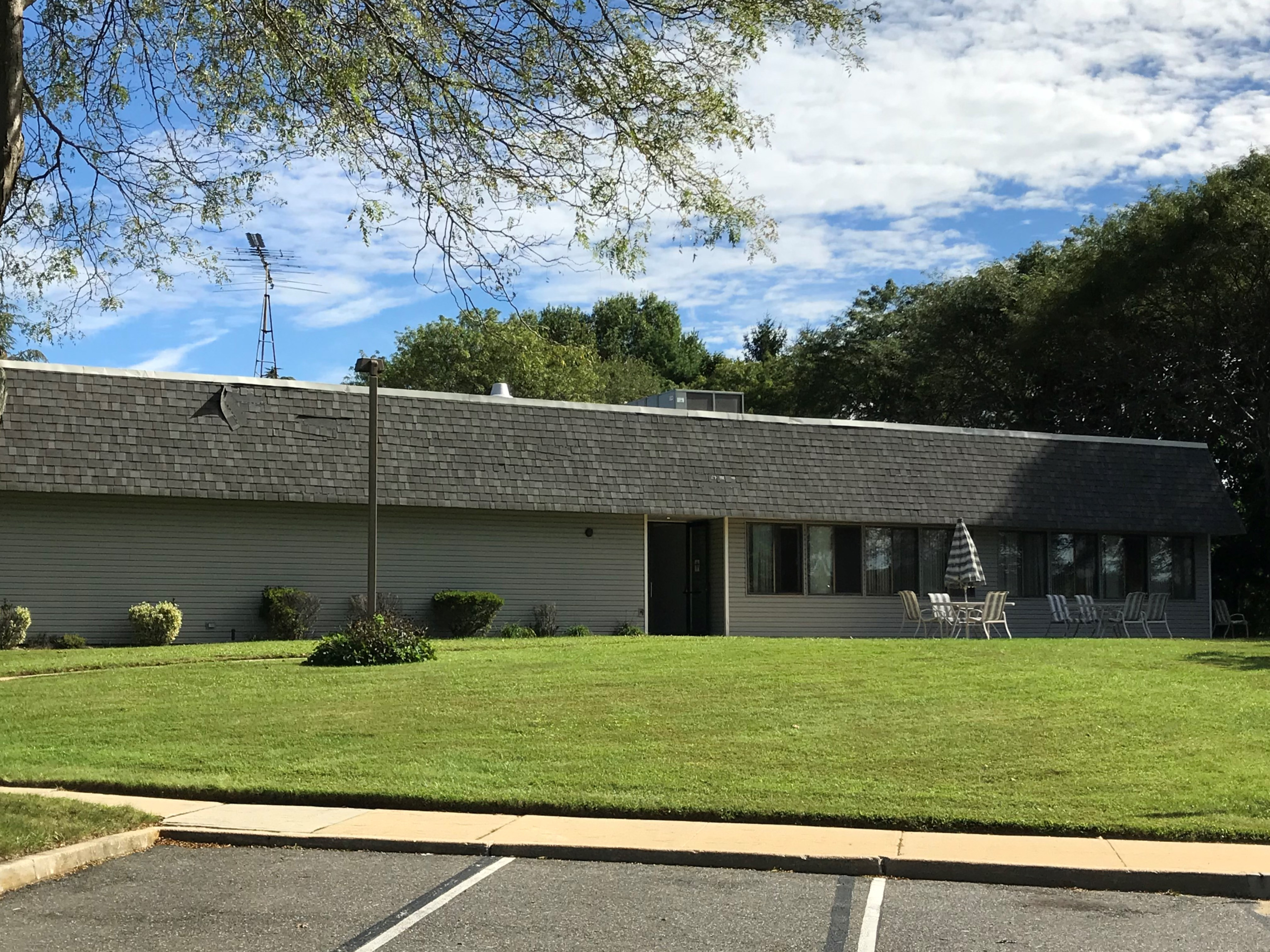 Community Building Rear