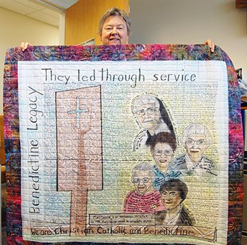 Historical Diary Quilt Highlights Sisters with Great Vision
