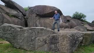 Rocks. Big Rocks. The Geology of Devil's Den.