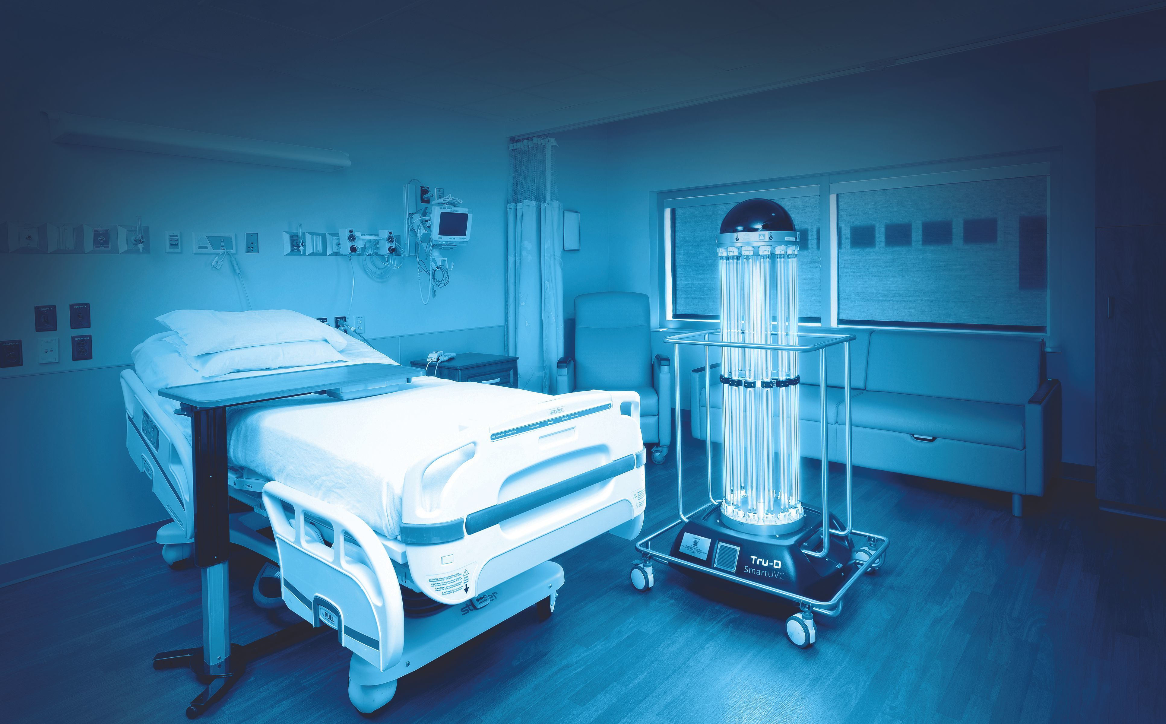 Southwest Healthcare Services deploys UVC disinfection robot to fight infections