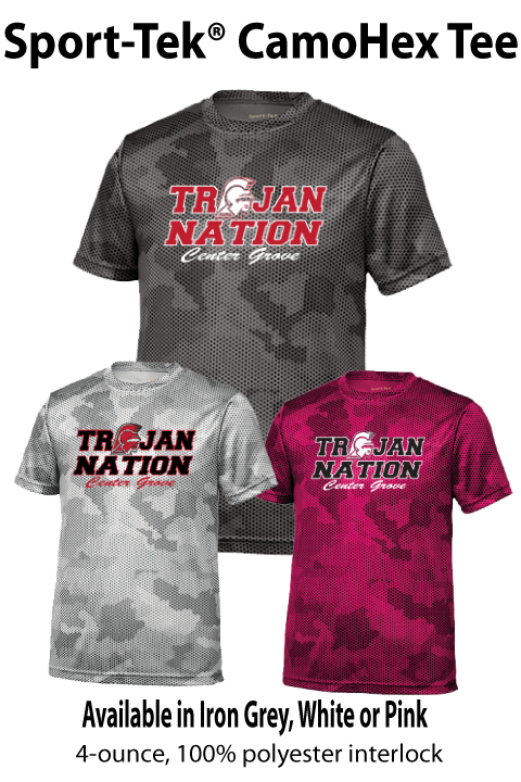 Trojan Nation - CamoHex Short-sleeve Tee