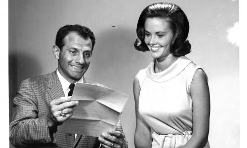 George Corradino and contestant, 1965