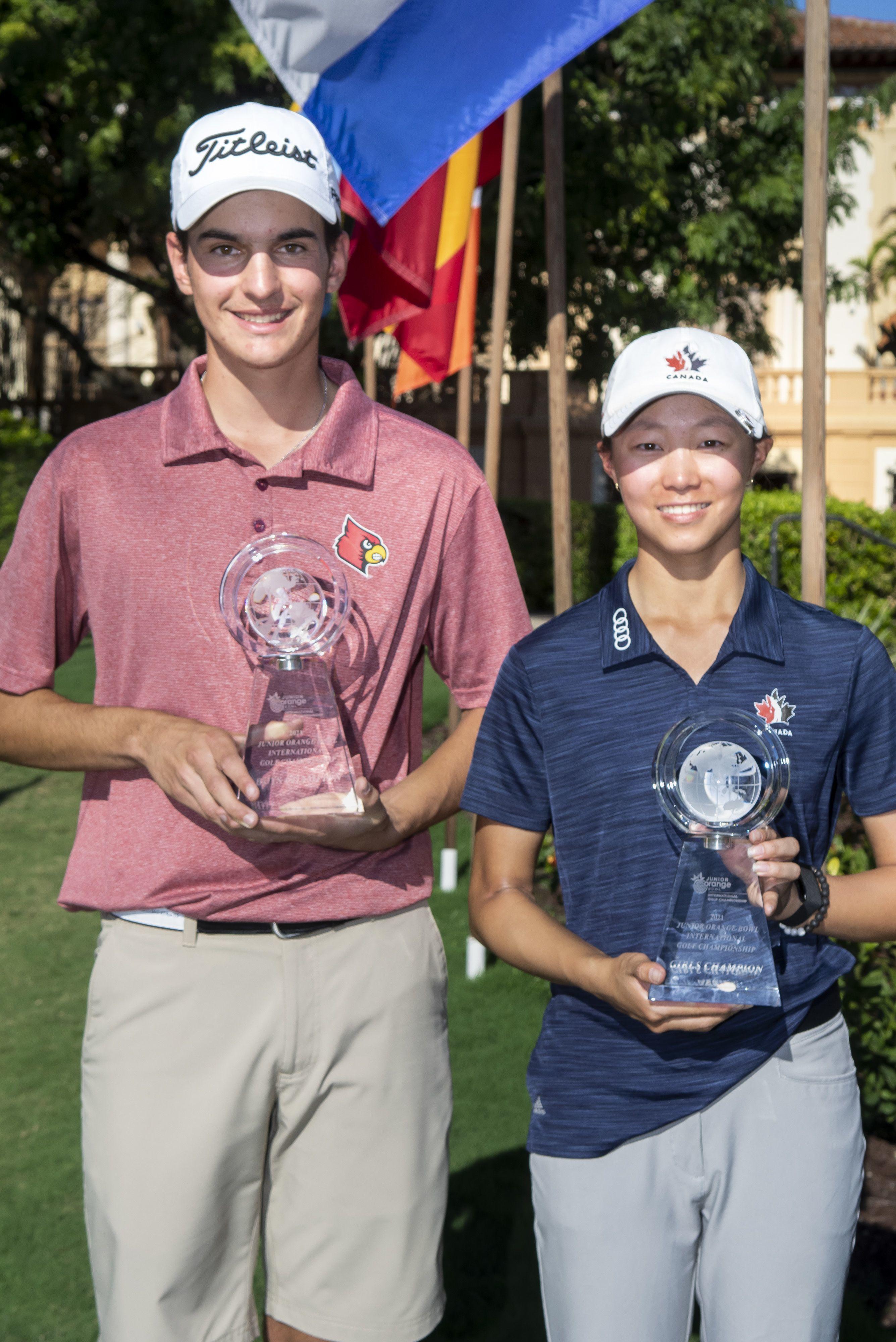 Pinecrest Tribune - 2021 Junior Orange Bowl Golf Invitational Champion