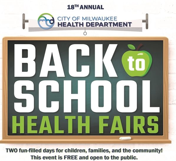 Energy Assistance Outreach at Milwaukee Health Department Back to School Health Fair
