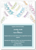 Butterfly wedding invitation | Kwik Kopy Design and Print Centre Halifax