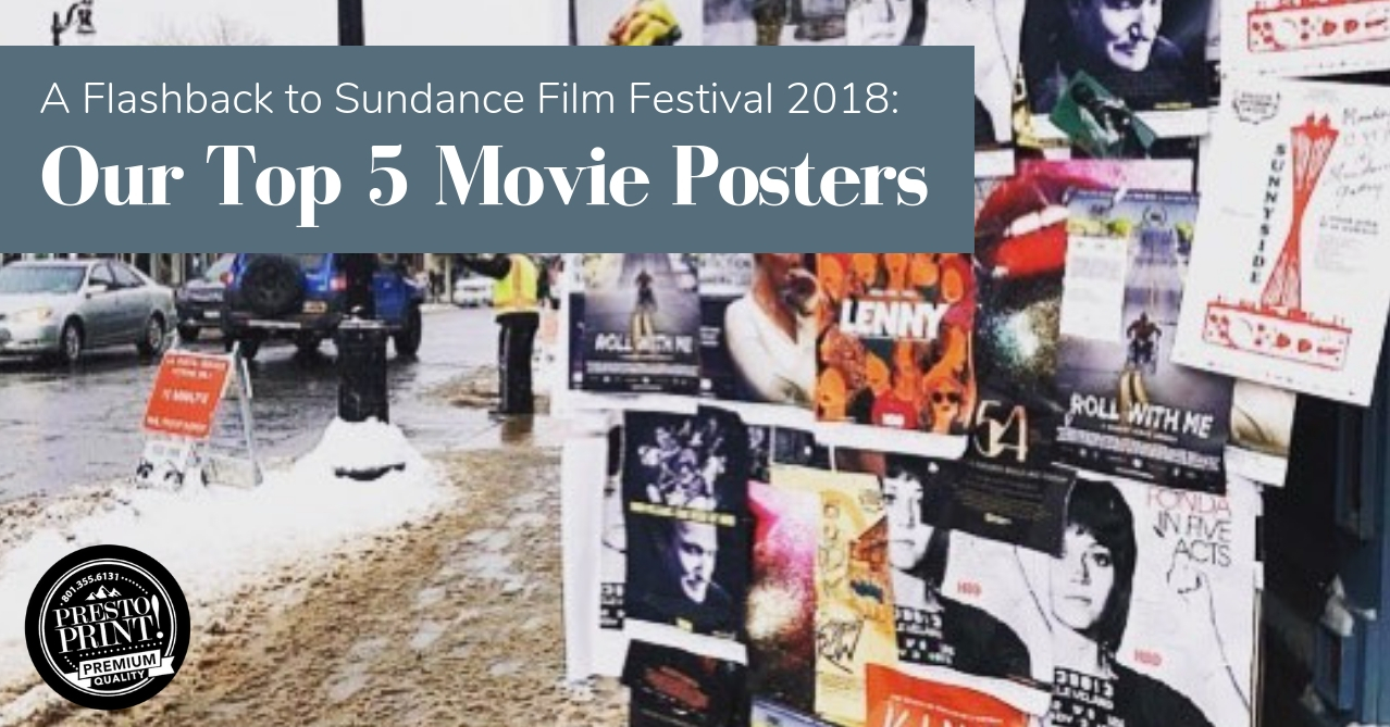 A Flashback to Sundance Film Festival 2018: Our Top 5 Movie Posters