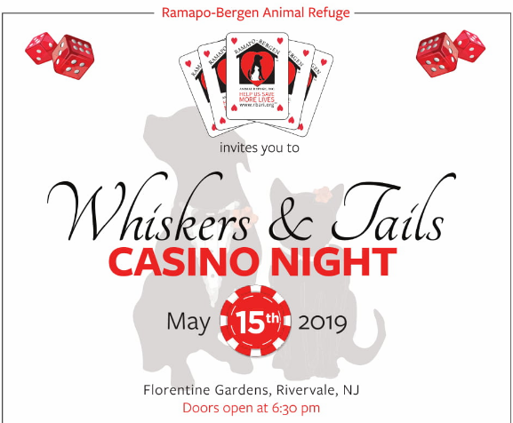 Whiskers & Tails Casino Night