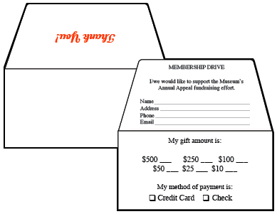 Remittance Envelope sizes