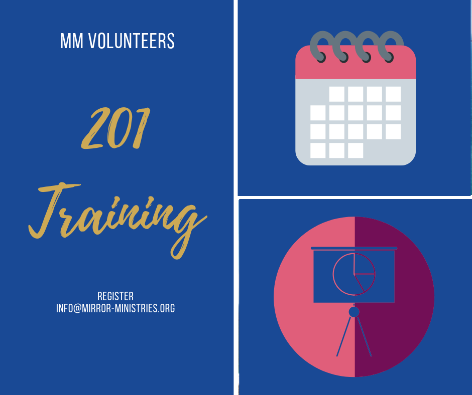 Volunteer 201 training