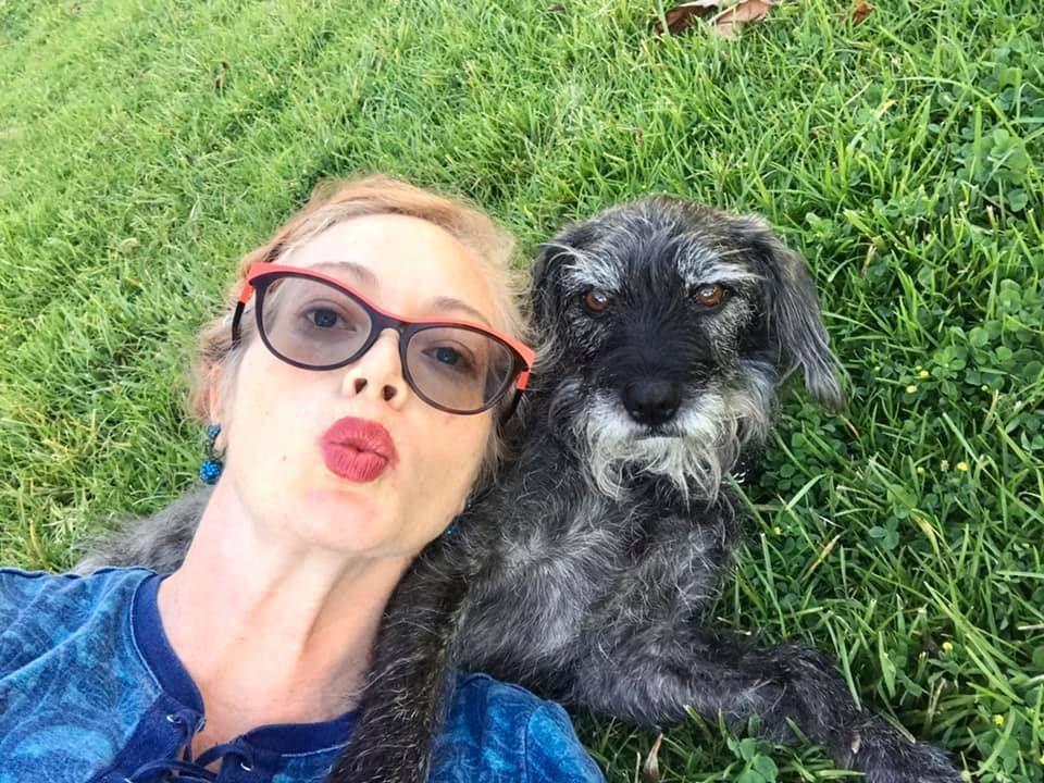 Hearing Dog team Sarah & Penny