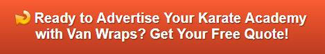 Free quote on van wraps for karate studios Placentia CA