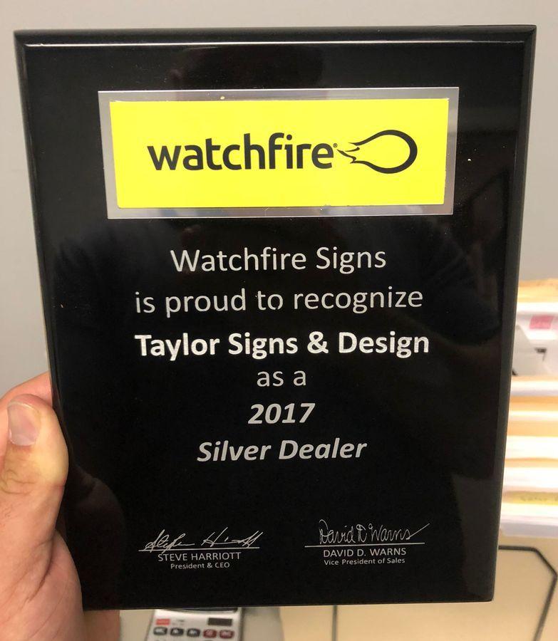 watchfire award