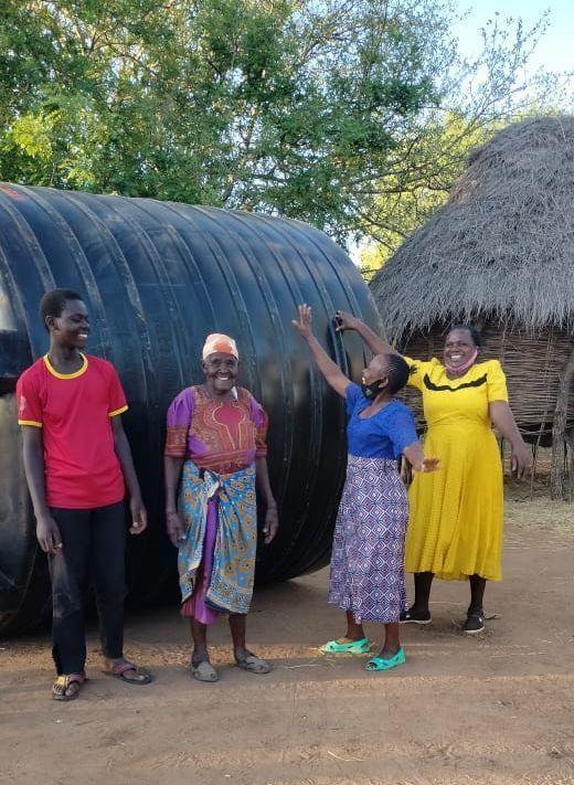 Margaret Mutua Receives a Tank!